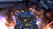 FO76 keyart steelreign burningbossymbol