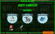 FoS Radroach Roundup rewards