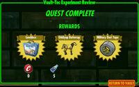 FoS Vault-Tec Experiment Review E rewards