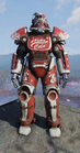 Nuka-Cola T-51b Power Armor Front