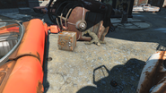 FO4 Safe infront of Lexington apartments