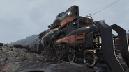 FO76 Red Line train engine