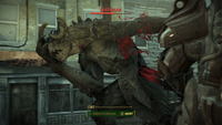 Fallout4 DeathclawHit