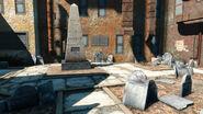 Fo4 Old Granary burying ground (Franklin Obelisk)