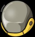FoS radiation suit helmet