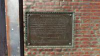 Old North Church plaque