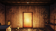 FO76SD Orwell Orchards bomb shelter entrance