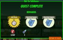 FoS Not-so-Safehouse rewards