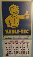 Vault-Tec Calendar