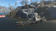 Breakheart Banks Fishing boat cabin map
