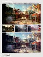 Diamond City color studies