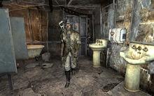 FO3 Megaton womens restroom Simms