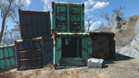 FO4 National Guard training yard Power armor