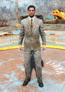 Fo4Dirty Grey Suit male
