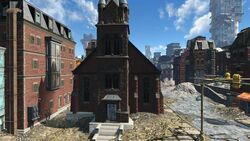 Holy Mission Congregation Exterrior View