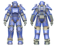 FO4CC T-45 power armor blue