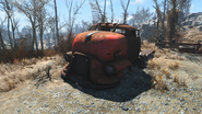 FO4 Red truck