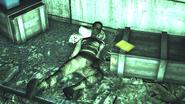 FO76 Big Bend Tunnel raider corpse