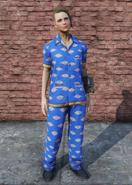 FO76 Vault-Tec Pajamas Female