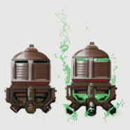 Art of Fallout 4 plasma grenade