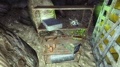 FNV GK supply cave Oscar Velasco's supply cache