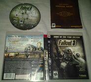 Fallout 3 GOTY box art