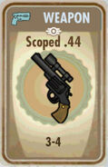 Fos Scoped .44 Card
