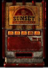 SunsetSarsaparilla vending machine