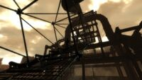 The blast furnace top