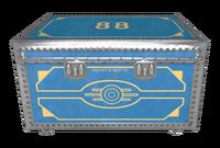 Vault 88 steamer trunk clean