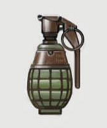 Art of Fallout 4 frag grenade