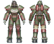 FO4 T-51 power armor hot rod shark
