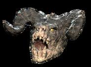 FO76WL Fasnacht deathclaw mask