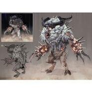 FO76 Chris Ortega concept (The SheepSquatch Monster) (3)