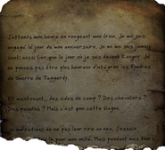 FO76 Page de journal anonyme