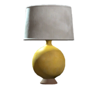 Yellow table lamp.png