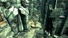 FO3 Super mutant camp Vernon Square 01