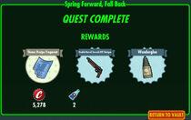 FoS Spring Forward, Fall Back rewards
