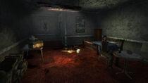 Bruce Isaacs motel room