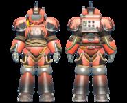 CC-00 power armor Hot Rod flames paint