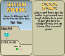 FoS Shotgun Wedding card