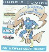 FO3 Hubris Comics poster