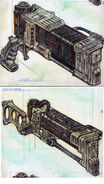 Laser rifle CA2