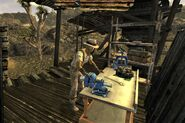 FNV Novac workbench shack
