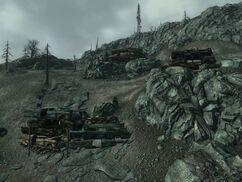 FO3 Raider wreckage fortifications.jpg