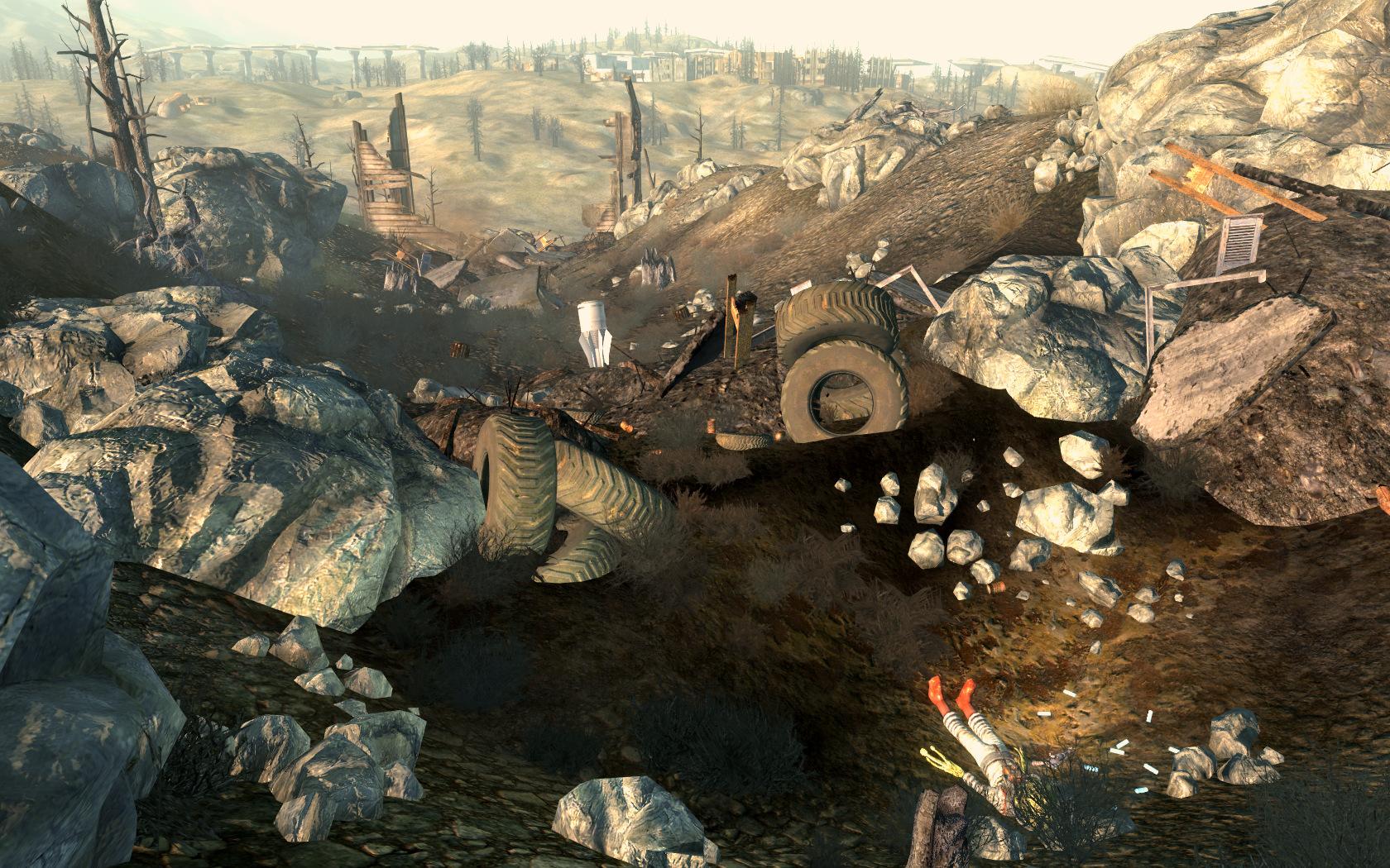 Разбитый корабль пришельцев