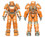 FO4CC T-60 power armor orange