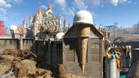 FO4NW King Cola's Castle Tower