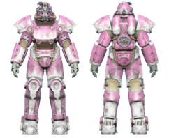 FO4 T-51 power armor hot rod pink.png