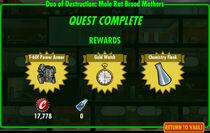 FoS Duo of Destruction Mole Rat Brood Mothers rewards